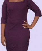 GZK051( Cowl neck dress)